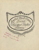 Martha Wood Brown Bookplate