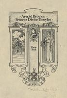 Frances Divine Broyles and Arnold Broyles Bookplate