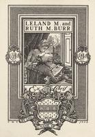 Ruth M. Burr and Leland M. Burr Bookplate
