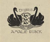 Amalie Busck Bookplate