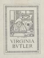 Virginia Butler Bookplate