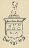 Annice Bradford Butts Bookplate