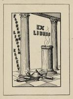 Florence Lincoln Ellery Bookplate