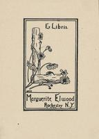Marguerite Elwood Bookplate