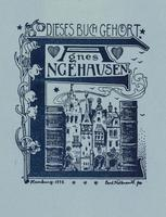 Agnes Engehausen Bookplate