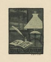 Maria Erhardt Bookplate