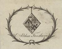 Althea Fanshawe Bookplate