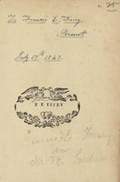Frances E. Ferry Bookplate
