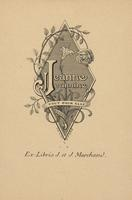 Jeannine Marchand and Jeanne Marchand Bookplate