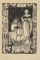 Geraldine, Countess of Mayo Bookplate