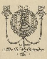 Alice B. McCutcheon Bookplate