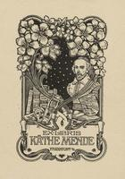 Käthe Mende Bookplate