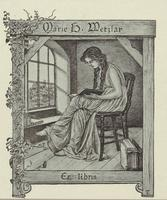 Marie H. Metzlar Bookplate