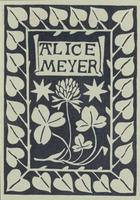 Alice Meyer Bookplate