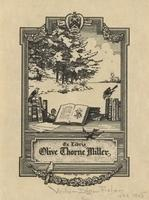 Olive Thorne Miller Bookplate
