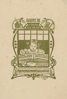 Ramona Monsalvatje Bookplate