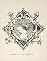 Madame Gabrielle Moynel Bookplate