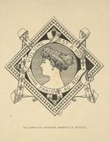 Madam Gabrielle Moynel Bookplate