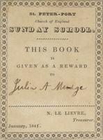 Julia A. Mudge Bookplate