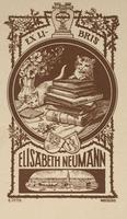 Elisabeth Neumann Bookplate