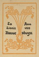 Anne van Nhuyse Bookplate