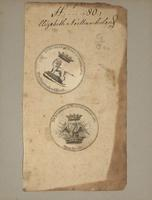 Bookplate with mount