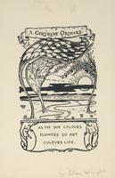 A. Gertrude Orchard Bookplate