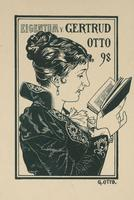 Gertrud Otto Bookplate