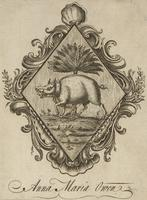 Anna Maria Owen Bookplate