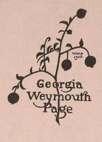 Weymouth Georgia Page Bookplate