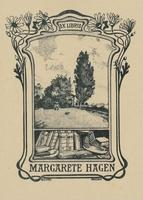 Margarete Hagen Bookplate
