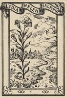 Lydia Helen Halford Bookplate