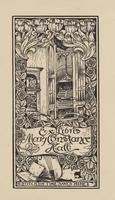Mary Constance Hall Bookplate