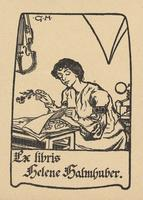 Helene Halmhuber Bookplate