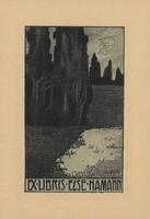 Else Hamann Bookplate