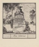 Alice Hauser and Alfred Hauser Bookplate