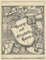 Elizabeth Haven and George Haven Bookplate
