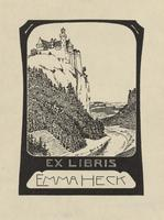 Emma Heck Bookplate