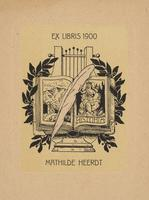 Mathilde Heerdt Bookplate
