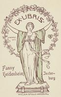 Fanny Heidenheim Bookplate