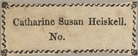 Catharine Susan Heiskell Bookplate