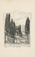 Anna Heyse Bookplate