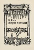 Mathilde Hildebrandt Bookplate