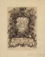 Blanche Hoskyns Bookplate