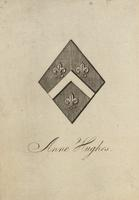 Anne Hughes bookplate