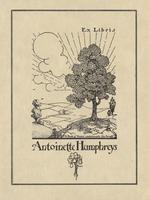 Antoinette Humphreys Bookplate