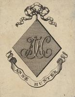 Anne Hunter Bookplate