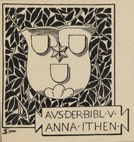 Anna Ithen Bookplate