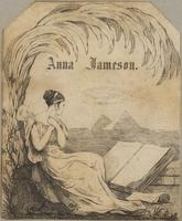 Anna Jameson Bookplate