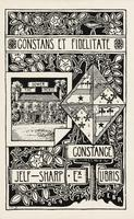 Constance Jelf-Sharp Bookplate
